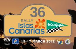 36 Rallye IRC Islas Canarias El Corte Ingles 2012. 15, 16 y 17 de Marzo 2012